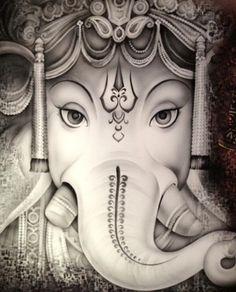 Ganesha- by Radhika