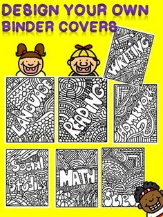 Are you looking for a fun way for students to personalize their reading journals, binders, and notebooks?  FREE!