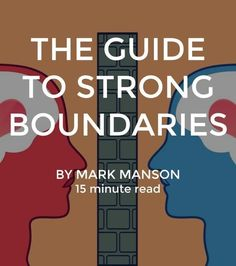 Boundaries work both ways: they create emotional health and are created by people with emotional health. They are something you can start working on today with the people close to you and you'll begin to notice a difference in your self-esteem, confidence, emotional stability, and so on. And yes, believe it or not, boundaries are also hot.