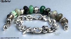 Slytherin Trollbeads bracelet