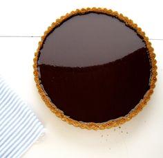 Dough Puncher: Dark Chocolate Tart