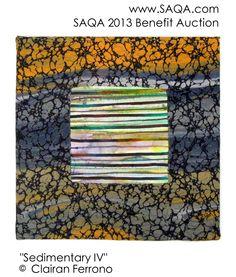 Art quilt by Clairan Ferrono