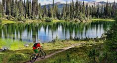 British Columbia has the world's best mountain bike trails & Sacred Rides has been offering incredible mountain bike experiences in the Rockies for 20 years.