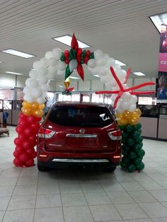 1000 images about balloons car dealerships on pinterest - Inside car decorating ideas ...