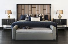 ADRIANA HOYOS GRAFITO #Bedroom Collection #furniture #bedroomfurniture