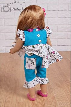 Angel Girl & Doll PDF - Ellie Inspired - Sizes 4 thru 12 - $6.71 : Whimsical Designs