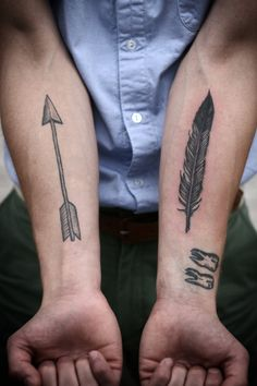 .Arrow Tattoo