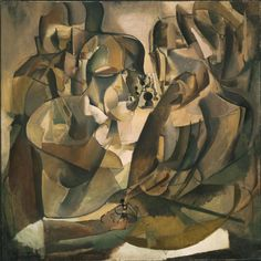 Portrait of Chess Players Date: 1911 Medium: Oil on canvas Dimensions: 39 5/8 x 39 9/16 inches (100.6 x 100.5 cm) Framed: 41 5/8 × 41 5/8 × 2 3/8 inches (105.7 × 105.7 × 6 cm)