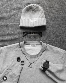 Gray Outfits, Winter Hats, Beanie, Grey, Fashion, Gray, Moda, Grey Suits, Fashion Styles