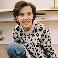 Teen actress and model Millie Bobby Brown