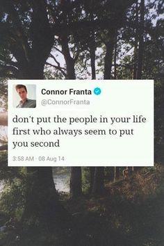 Connor franta quote