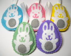 Easter quilt block pattern at craftandfabriclinks use for easter egg hunt felt easter egg tree ornaments white rabbits set of easter gifts for kids negle Gallery