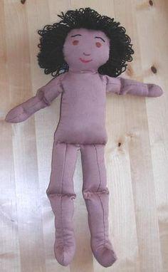 Free 18 Inch Amanda Cloth or Rag Doll Pattern