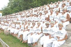 Most People Dress Mahatma Gandhi - http://www.worldrecordsindia.com