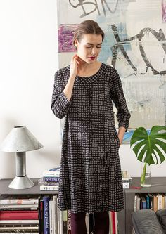 Aplodi dress / Nanso AW 2015 Scandinavian Home, Day Dresses, Night Gown, Short Sleeve Dresses, Gowns, Style Inspiration, Elegant, Fashion Designers, My Style