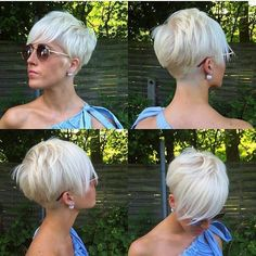 Short hair pixie