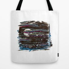 MOON AND STARS Tote Bag by Carley LoFaso - $22.00
