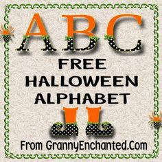 Free Digi Scrapbook Alphabet