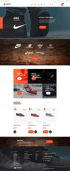 Template 61157 - Hamintec Shoes Responsive PrestaShop Theme with Carousel, Slider, Video