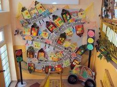 Kindergarten Activities, Preschool Activities, Diy For Kids, Crafts For Kids, Transportation Crafts, Kids Class, Art Lesson Plans, Classroom Themes, Art Plastique