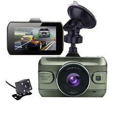 2017 New 3.0 inch Dual Lens Car Dvrs Full HD 1080P Car Dvr Video Recorder Car Camera Dash Cam Support Rear View Backup Camera (32788836239)  SEE MORE  #SuperDeals