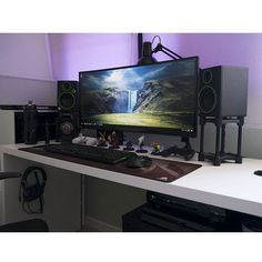 "607 Likes, 1 Comments - Mal - PC Builds and Setups (@pcgaminghub) on Instagram: ""An amazing ultrawide setup! Any of you DotA fans out there will know how much that aegis is worth…"""