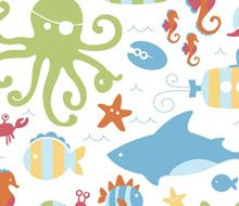 Sealife Print - My list of the most beautiful animals Bon Point, Most Beautiful Animals, Body Adornment, Paper Goods, Illustration, Kids Rugs, Textiles, Diy Crafts, Fancy