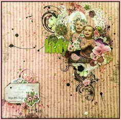 Pink layout Little Lady | Magic Attic Design