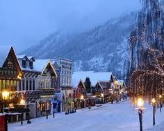 snowy towns - Google Search