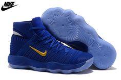 d7ed948e4dd Nike Hyperdunk 2017 Cool Nike Hyperdunk 2017 High Royal Blue Gold  Basketball Shoe For Discount