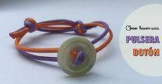 Resultado de imagen para pulseras con botones manualidades