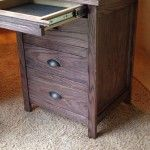 How to build your own secret compartment nightstand. - DIY Nightstand with Hidden Gun Drawer