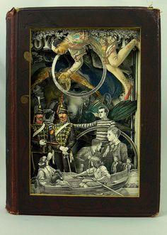 Alexander Korzer-Robinson's Book Art paper sculpture