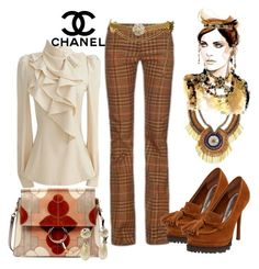 """Chanel"" by mrsdarlene on Polyvore featuring Chanel, Riess, Chloé, Bebe, women's clothing, women, female, woman, misses and juniors"