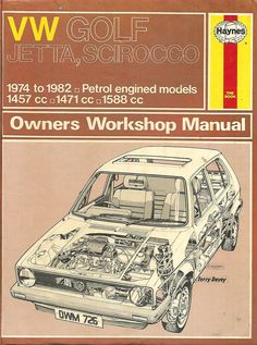 (726) VW Golf, Jetta & Scirocco 1974-1982