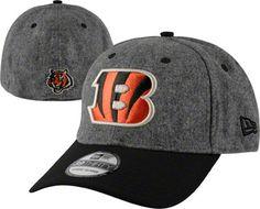 Cincinnati Bengals New Era 39THIRTY Meltop Flex Hat