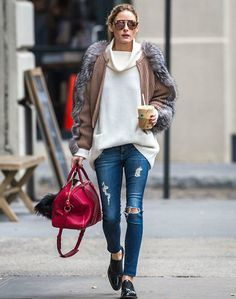 The Olivia Palermo Lookbook : Olivia Palermo out and about in New York City