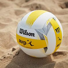 The Wilson AVP volleyball is the official beach volleyball of the American AVP Tour and the most outstanding outdoor volleyball in the US. Avp Volleyball, Volleyball Outfits, Beach Volleyball, Olympic Badminton, Olympic Games Sports, Olympic Gymnastics, Jordyn Wieber, Nastia Liukin