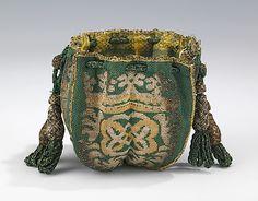 Fourth Quarter 17th Century European Pouch