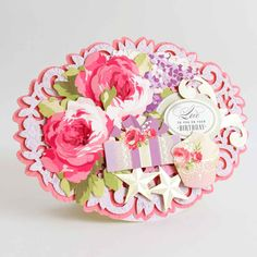It's Your Birthday, Birthday Cake, Anna Griffin Cards, Floral Wreath, Floral Crown, Birthday Cakes, Cake Birthday, Flower Crowns, Flower Band