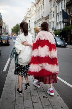 【スナップ】2016年春夏ロンドン・ファッション・ウイーク ストリートスナップ 57 / 89
