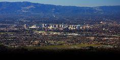 The San Jose skyline
