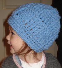 Basketweave Crochet Hat, pattern