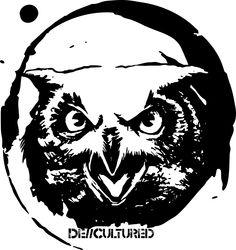 De\\Cultured - Owl - Urban Design of a Owl using Stencil Graffiti Style Artwork US Store for Owl Design : http://decultured.spreadshirt.com/de-cultured-owl-I1000228539 Facebook Page : https://www.facebook.com/Decultured Twitter Page : https://twitter.com/DeCultured_Co