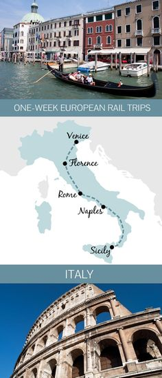 You don't need months to spare to see Europe by train – a one-week Italian rail itinerary from Venice to Sicily
