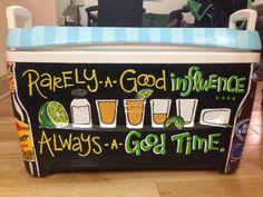 Progression of a tequila shot Sorority Paddles, Sorority Crafts, Sorority Life, Sorority Canvas, Sorority Recruitment, Sorority Formal, Diy Cooler, Coolest Cooler, Nola Cooler