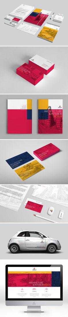 arabian designer identity bt triptic
