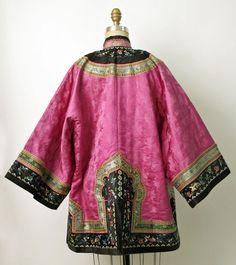 Coat Late 19th century China