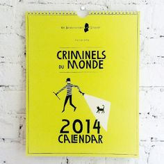 2014 Criminals Calendar