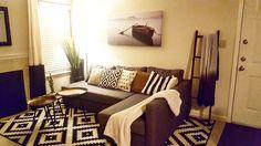 Ikea FRIHETEN Sleeper sectional, 3-seat, Skiftebo grey #apartment #decor